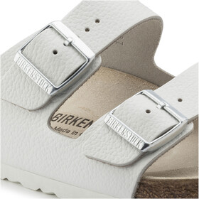 Birkenstock Arizona Sandals Smooth Leather Narrow White